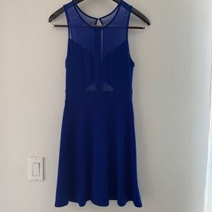 Urban Outfitters - Skater Dress w. Mesh Cut Outs.